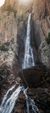 Waterfall in South part of Corsica island, France Stock Photography
