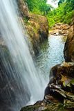Waterfall South in thailand Royalty Free Stock Images
