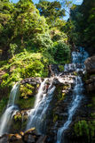 Waterfall in southern Laos Royalty Free Stock Image