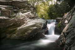 Waterfall  in Spring. Kemalpasa Izmir Turkey. Stock Images