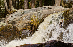 Waterfall in the spring Royalty Free Stock Image