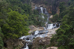 Waterfall in Sri Lanka Stock Photo