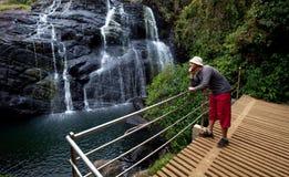 Waterfall on Sri Lanka Royalty Free Stock Image