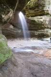 Waterfall at Starved Rock Stock Photos
