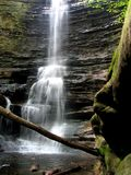 Waterfall in state park Royalty Free Stock Photography