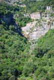 Waterfall of Stenopotamos Royalty Free Stock Photos