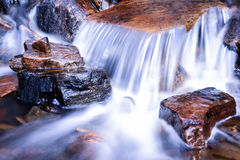 Waterfall and Stones Royalty Free Stock Photo