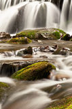 Waterfall and stones Royalty Free Stock Images