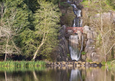 Waterfall at Stow Lake, San Francisco Royalty Free Stock Photography