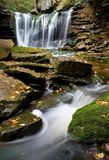 Waterfall and Stream Stock Image