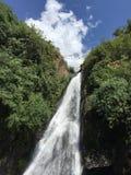 Waterfall and stream Stock Photo