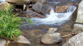 Waterfall stream Stock Images