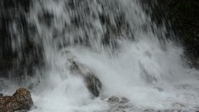 Waterfall stream in  nature stock video footage