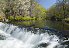 Waterfall and Stream. Time Lapse Waterfall and Stream (soft motion blur Royalty Free Stock Photography