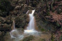 Waterfall Su Ahande. In crimea Royalty Free Stock Photography