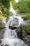 Waterfall in summer forest at  Cha Om, Kaeng Khoi District, Sara Royalty Free Stock Photo