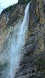 Waterfall in summer mountain Royalty Free Stock Photography