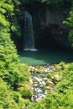 Waterfall of Suzaki Stock Images