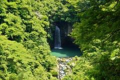Waterfall of Suzaki Royalty Free Stock Photo
