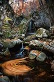 Waterfall swirl Stock Photo