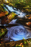 Waterfall Swirls Stock Photo