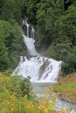 Waterfall in Switzerland Stock Photography