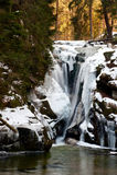 Waterfall Szklarka Royalty Free Stock Photos