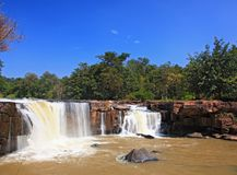 Waterfall Tadtone Thailand Stock Photography