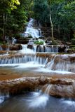 Waterfall at Tak province, western part of Thailand. Stock Photos