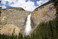 Waterfall. Takakkaw Falls, Canada Stock Photos