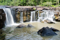 Waterfall. Tat ton National Park , Chaiyaphum in thailand Stock Photos