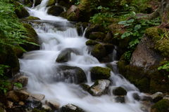 Waterfall. In Tatra mountains, Slovakia Stock Photo