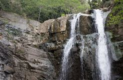 Waterfall in Tbilisi Botanical Garden Royalty Free Stock Image