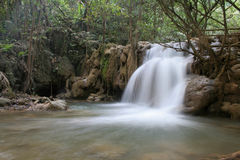 Waterfall at Tee-Lor-Su National Park Stock Photography