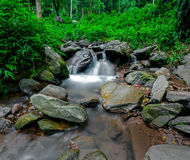 Waterfall in thai national park Royalty Free Stock Image