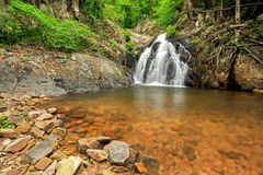 Waterfall in thai national park Stock Photos