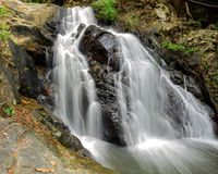 Waterfall in thai national park Royalty Free Stock Images