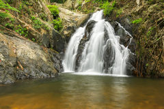 Waterfall in thai national park Royalty Free Stock Photos