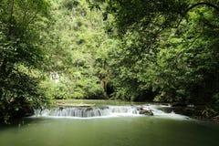 Waterfall. In thai national park,krabi thailand Royalty Free Stock Photos