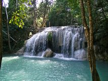 Waterfall in Thailand Stock Image