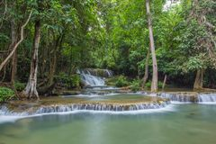 WaterFall in Thailand Stock Images