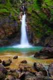 Waterfall in Thailand. Jogkradin Waterfall at Thongphaphum national park in Kanjanaburi province, Thailand Royalty Free Stock Photography