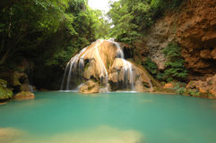 Waterfall in Thailand. Waterfall in Lamphun province of Thailand Stock Photo