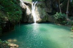Waterfall in thailand. Landscape waterfall at chiangrai thailand stock images