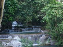 Waterfall in Thailand. Royalty Free Stock Photography