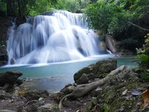 Waterfall in Thailand. stock images