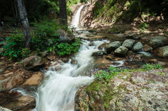 Waterfall in Thailand. Waterfall in national park in thailand royalty free stock photography