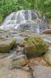Waterfall in Thailand. Royalty Free Stock Photos