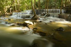 Waterfall in Thailand-1 Stock Photography