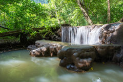 Waterfall in Thanbok Khoranee National Park, Krabi Royalty Free Stock Photography